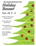 Holiday Bazaar Nov 18