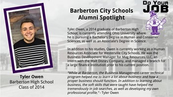 Alumni Spotlight for Oct