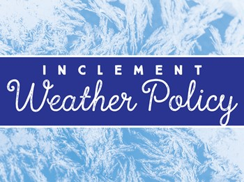BCSD Inclement Weather Policy