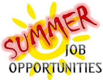 Summer Youth Job Opportunites