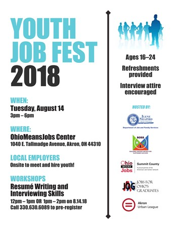 Aug 14 - Youth Job Fest