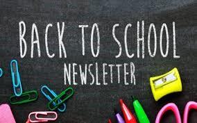 Back to School Newsletter Logo