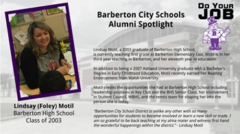 Alumni Spotlight for Sept