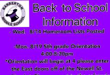 BMS Back to School