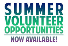 Summer Volunteers Needed