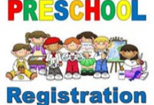 2021-2022 Preschool Registration