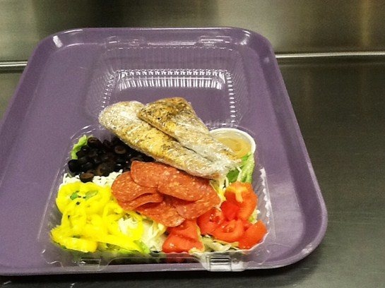 Italian Chef Salad Served at BHS and BMS