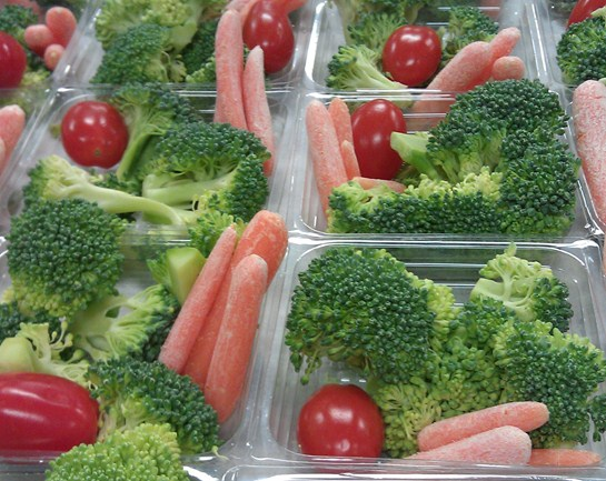 Fresh veggies are available daily at our elementary cafeterias