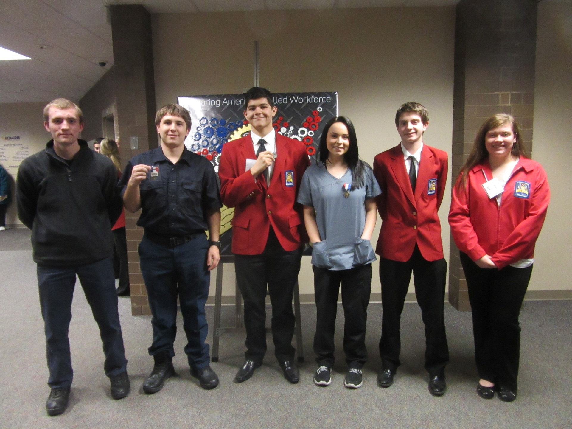 SkillsUSA winners from BHS Career and Technical Programs