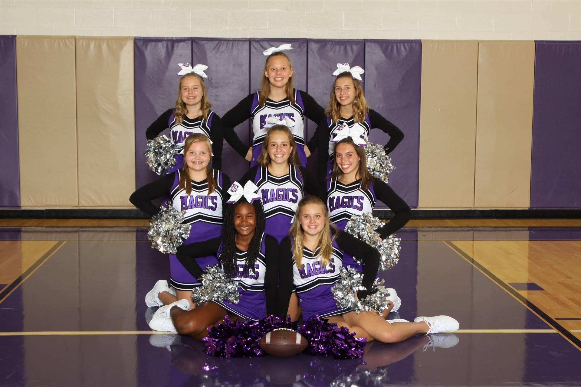 7/8th Grade Cheerleaders