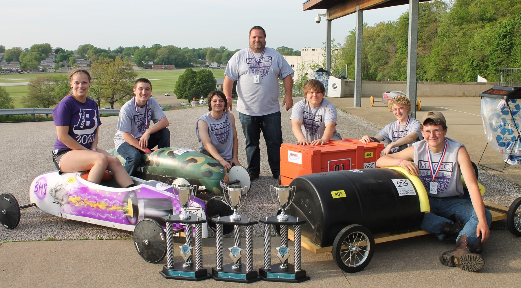 Soap Box Derby Team