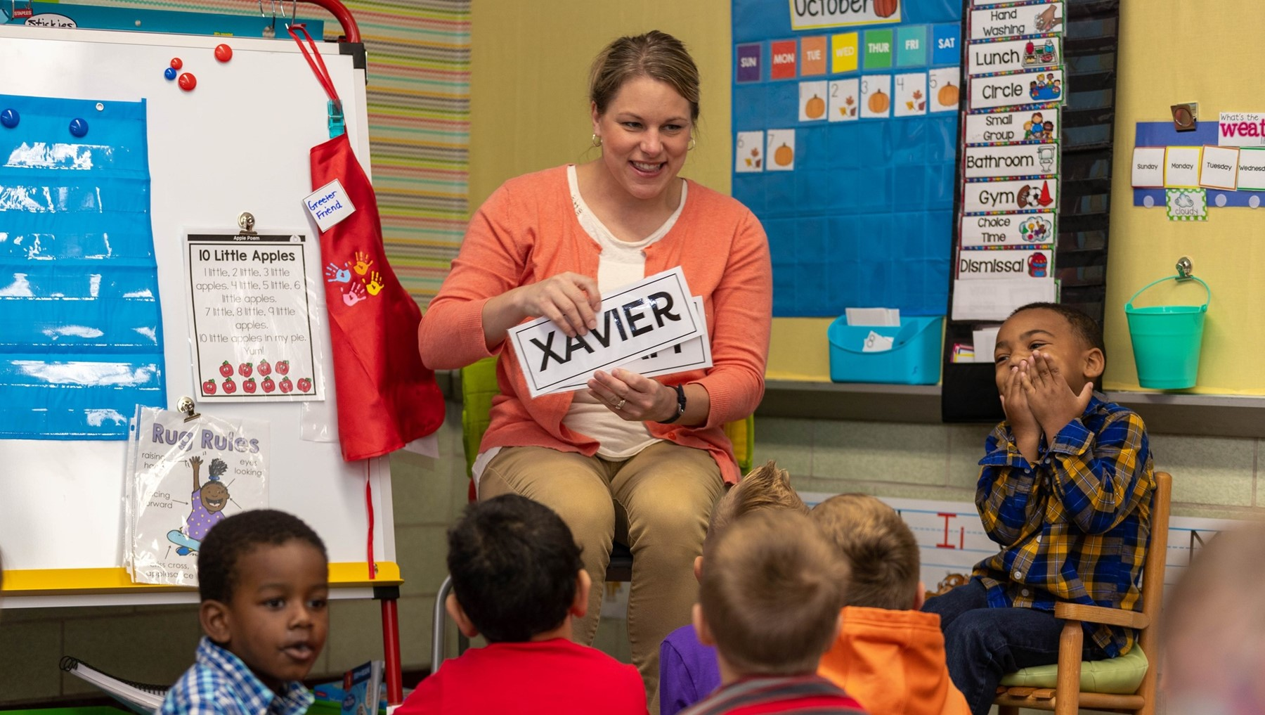 Our preschool program is making a big difference in Kindergarten readiness for students!