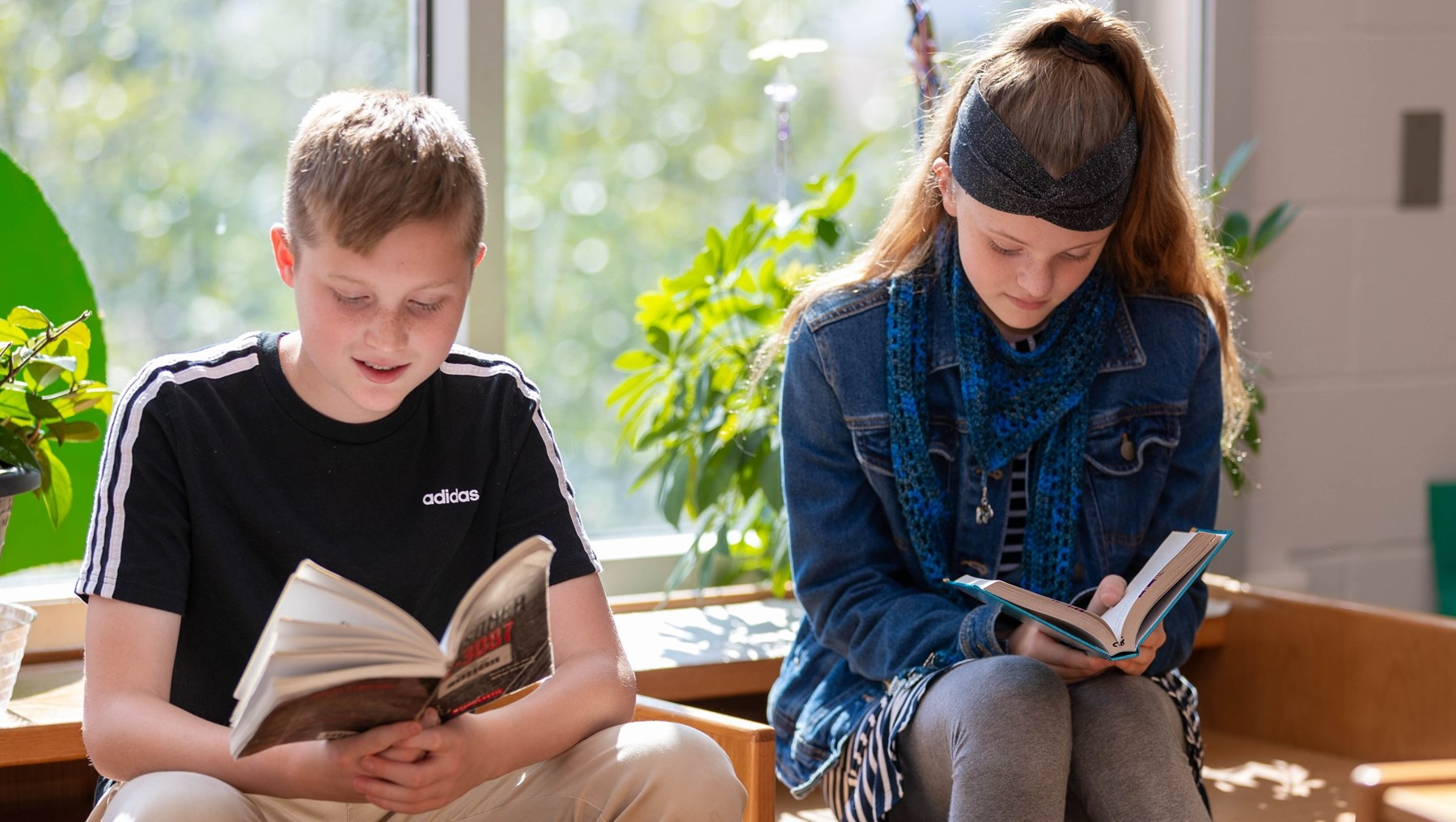 We provide Library access to all students in preschool through high school!