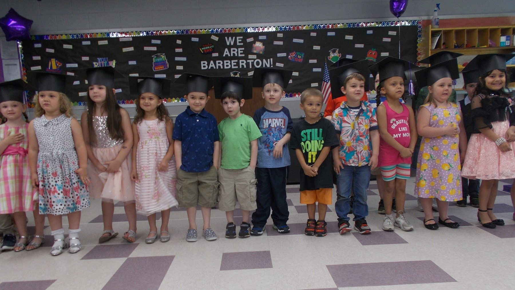 Barberton PreSchool Graduation Photo