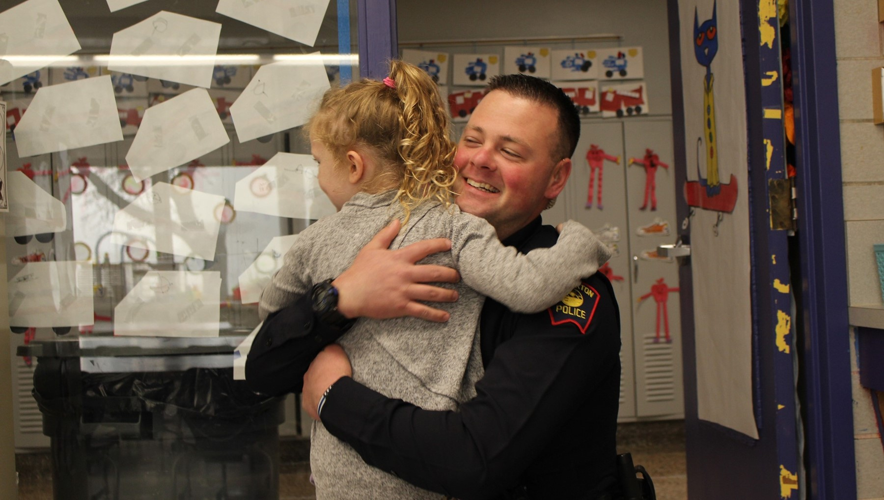 School Resource Officers protect and mentor students in each of our buildings.