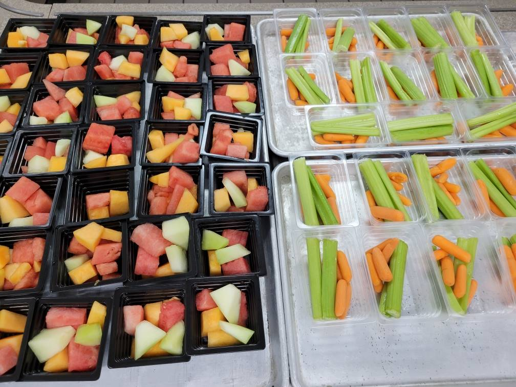 Fresh Fruits and Veggies!